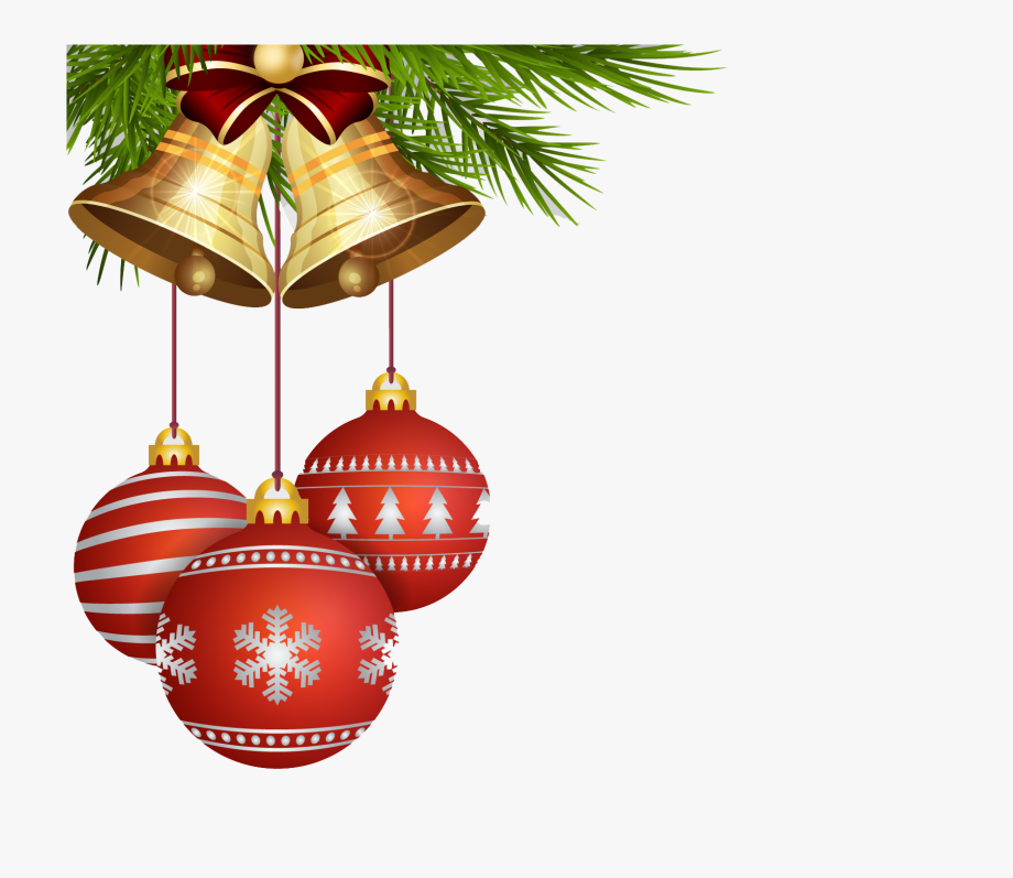 Christmas Ornament Transparent Background Vector, Clipart.