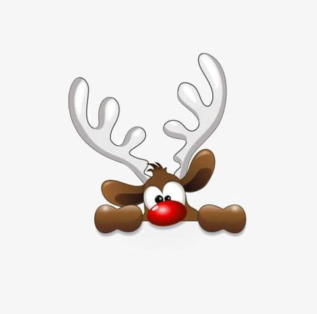 Christmas Deer PNG, Clipart, Antlers, Christmas Clipart, Claus, Cute.