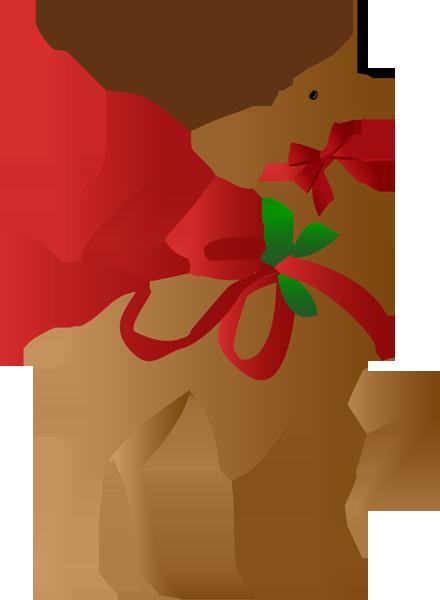 A Christmas Reindeer.
