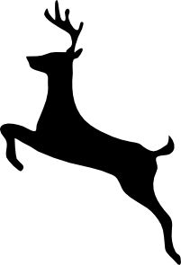 Free Reindeer Cliparts Black, Download Free Clip Art, Free.