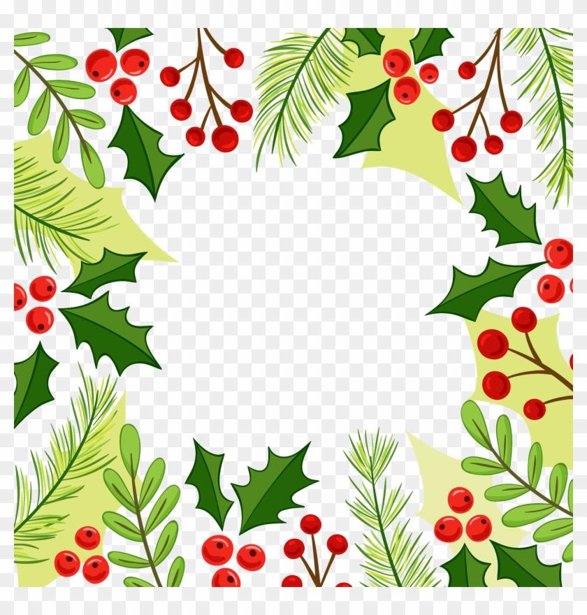 Christmas Corner Border Design Clip Art, HD Png Download (#31242.