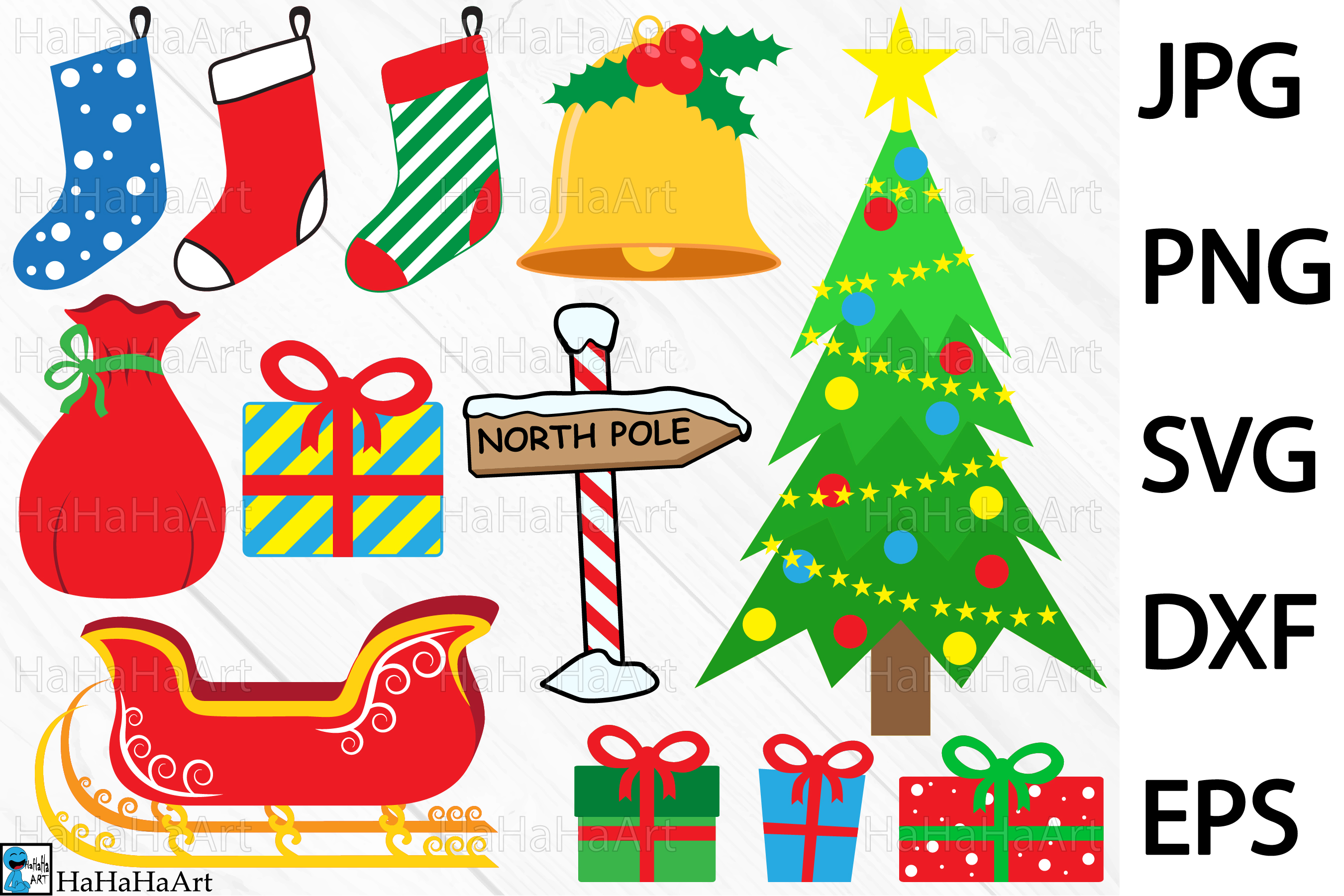 Christmas designs.