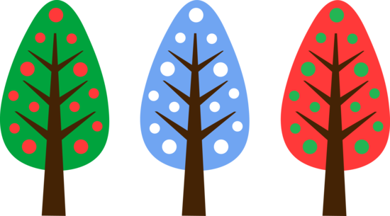 Cute Unique Christmas Tree Designs.