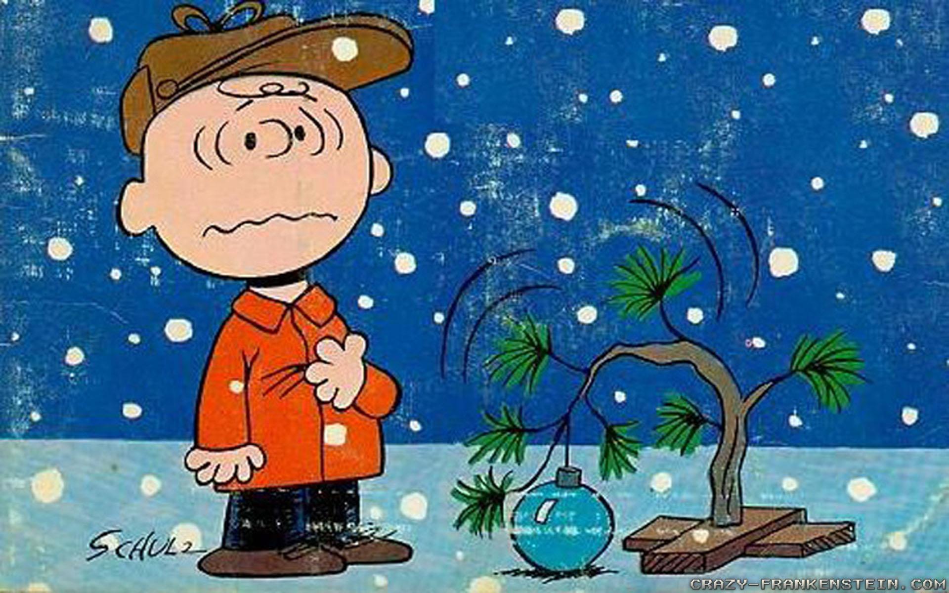 Peanuts christmas desktop clipart.