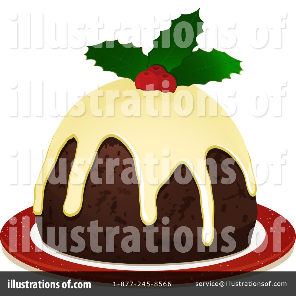 Christmas Pudding Clipart #1077394.