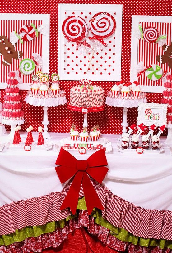 17 Best images about Christmas Dessert Tables on Pinterest.