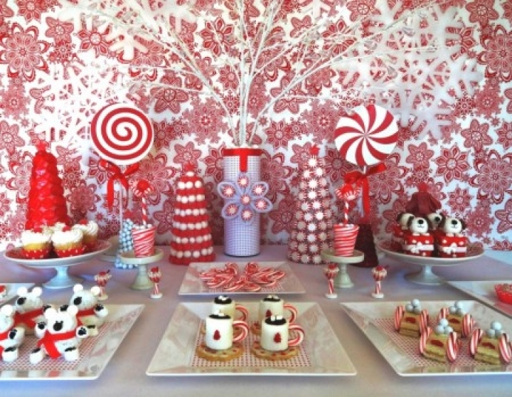 Christmas Dessert Table Decoration Ideas 1000 Images About Snack.