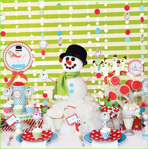 Deliciously Decorated} Holiday Dessert Tables.