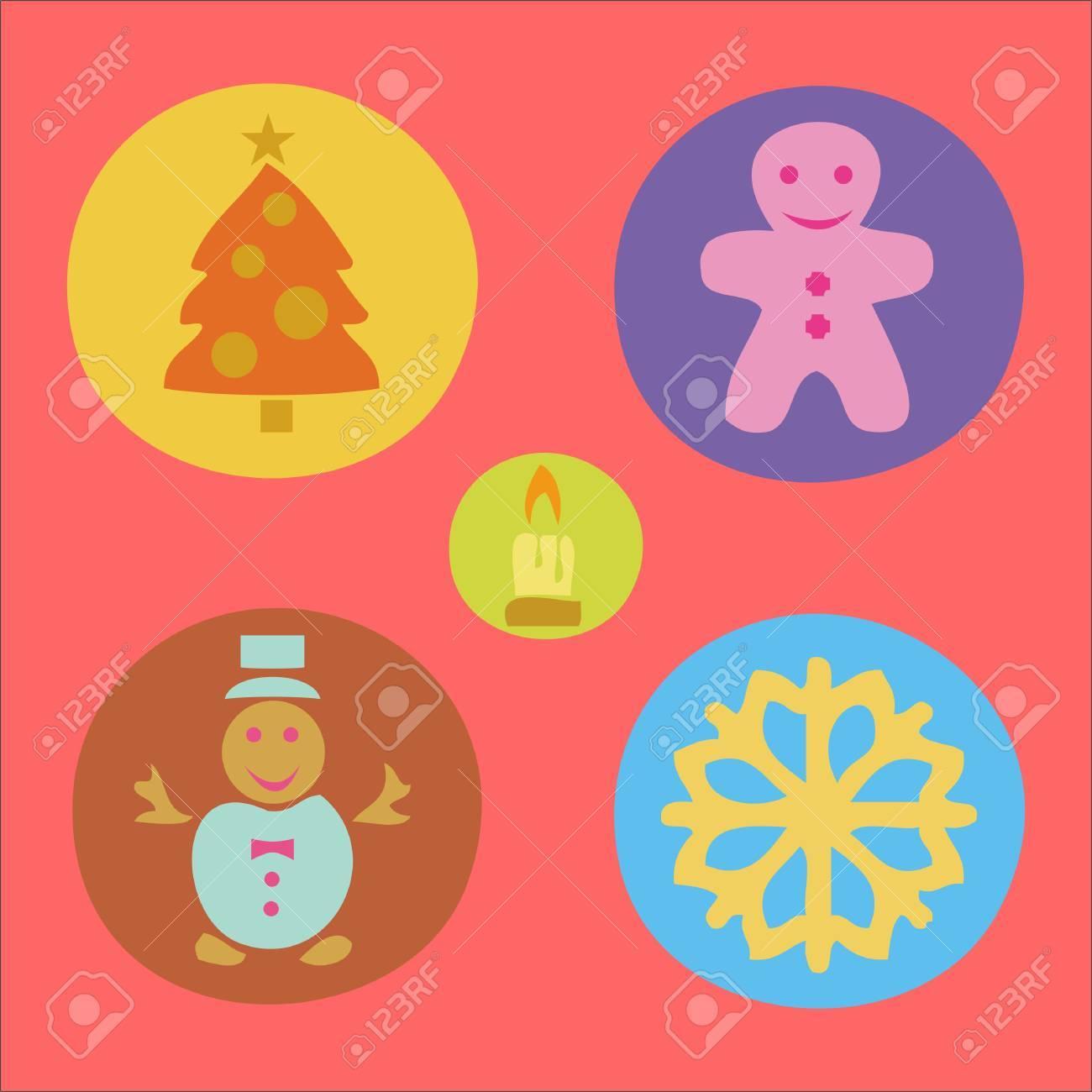 Christmas vector Digital Clipart 3.