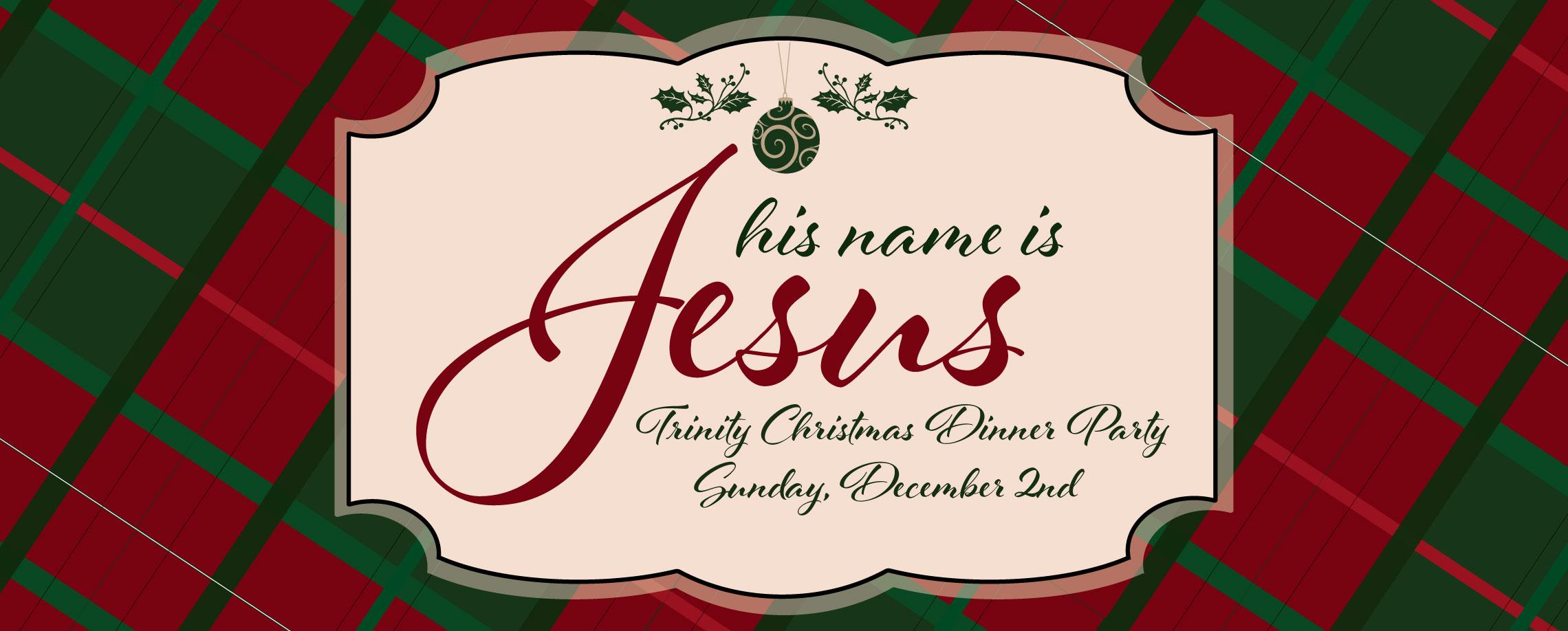 Trinity Presbyterian Church: Boerne, TX > Trinity Christmas Dinner Party.