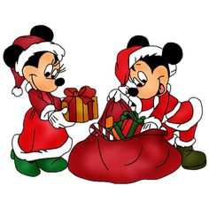 Disney Christmas Clipart.