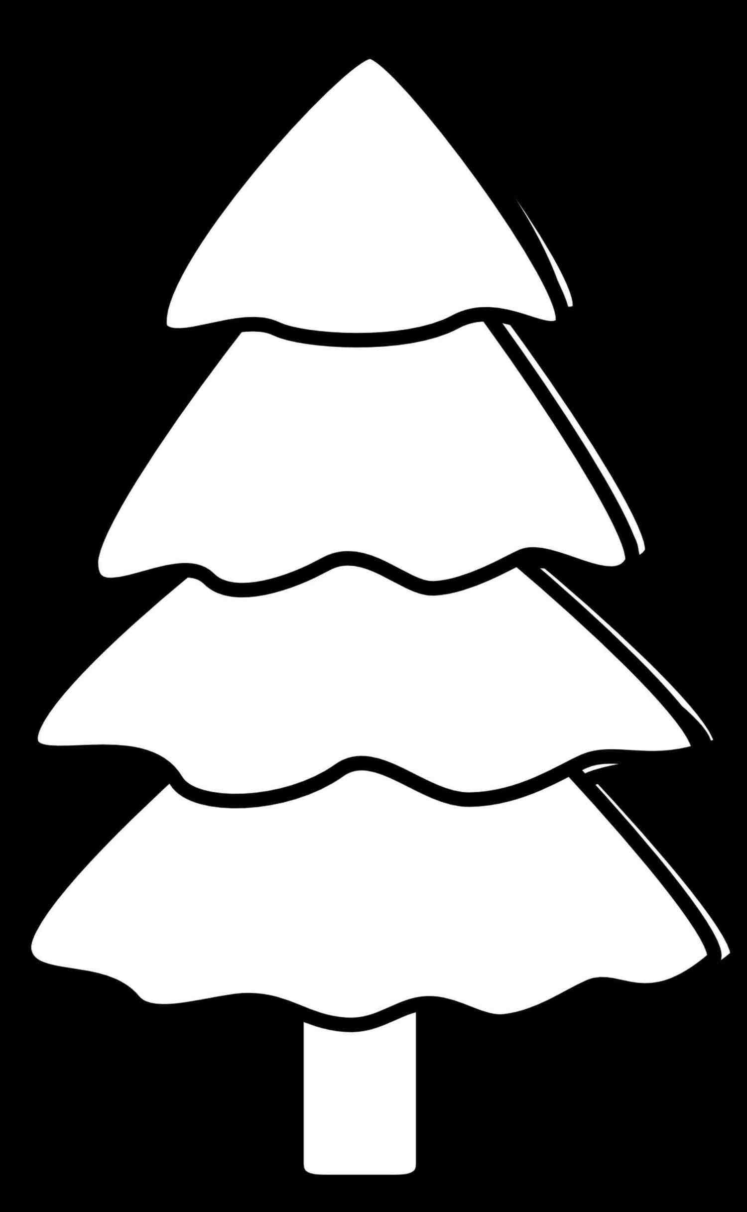christmas divider clipart black and white.