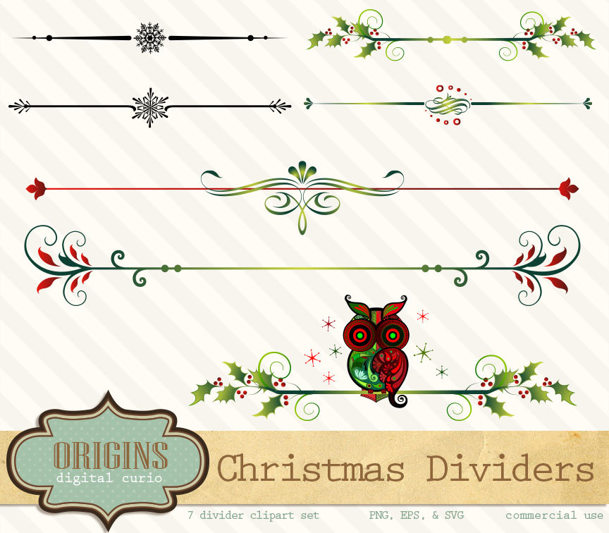 Similiar Christmas Divider Keywords.