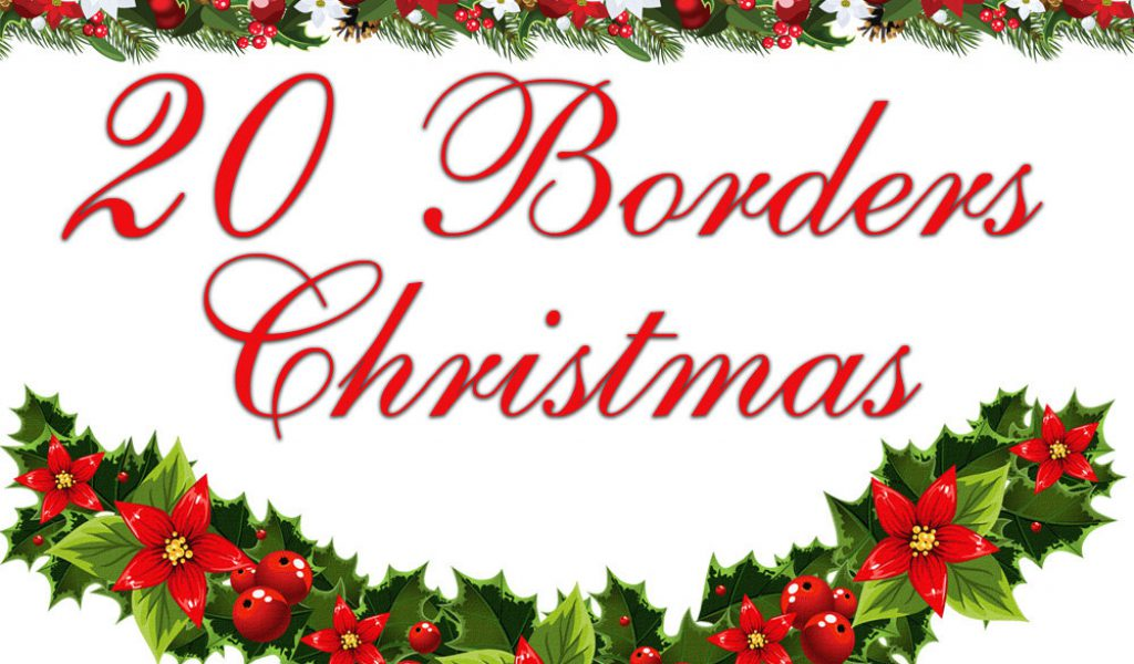 free christmas clipart dividers - Free Christmas Clipart