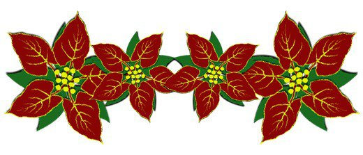 Free Christmas Divider Clipart.