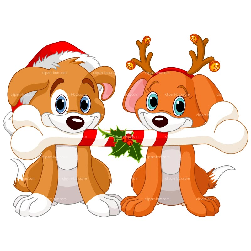 Christmas Dog Clipart Clipground