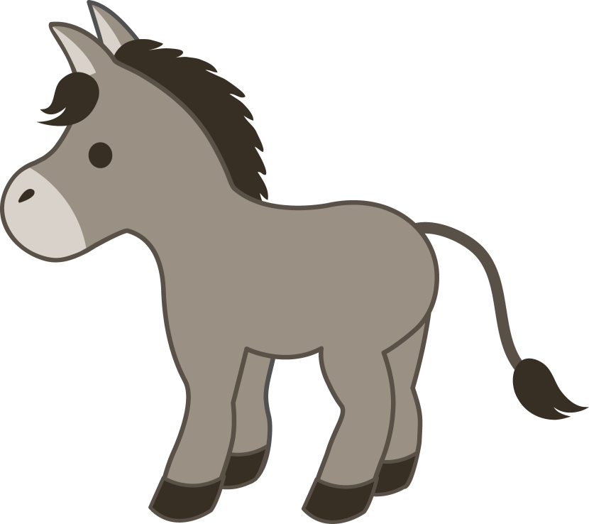 Free Christmas Donkey Cliparts, Download Free Clip Art, Free.