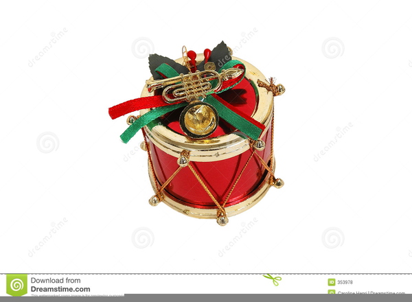 Christmas Drums Clipart.