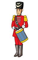Drummer Boy Clipart.