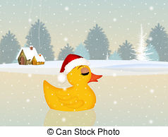 Duck at christmas Illustrations and Clipart. 10 Duck at christmas.