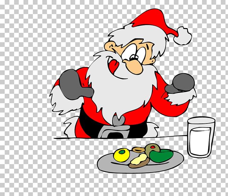 Cookie Monster Santa Claus Biscuits Eating , Santa Claus.