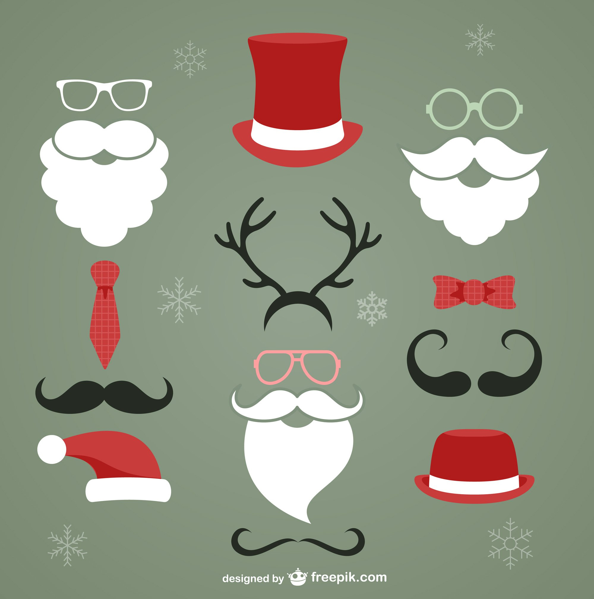 Latest Free Christmas Graphic Resources For Designers.