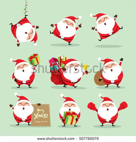 Santa Stock Images, Royalty.