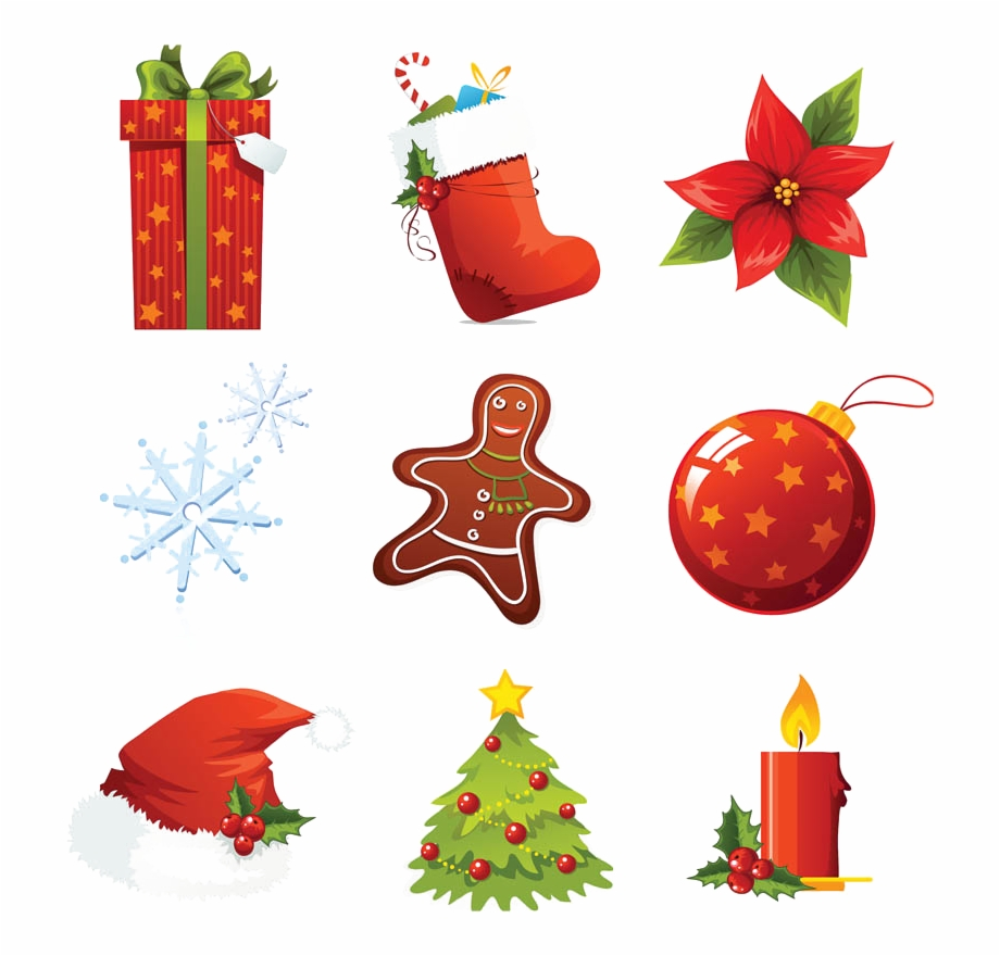 Xmas Elements Png Download Image.