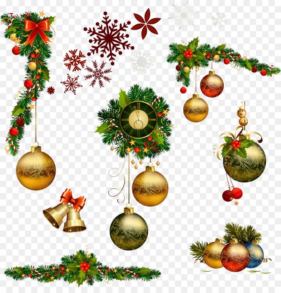 Christmas Decoration Drawing png download.