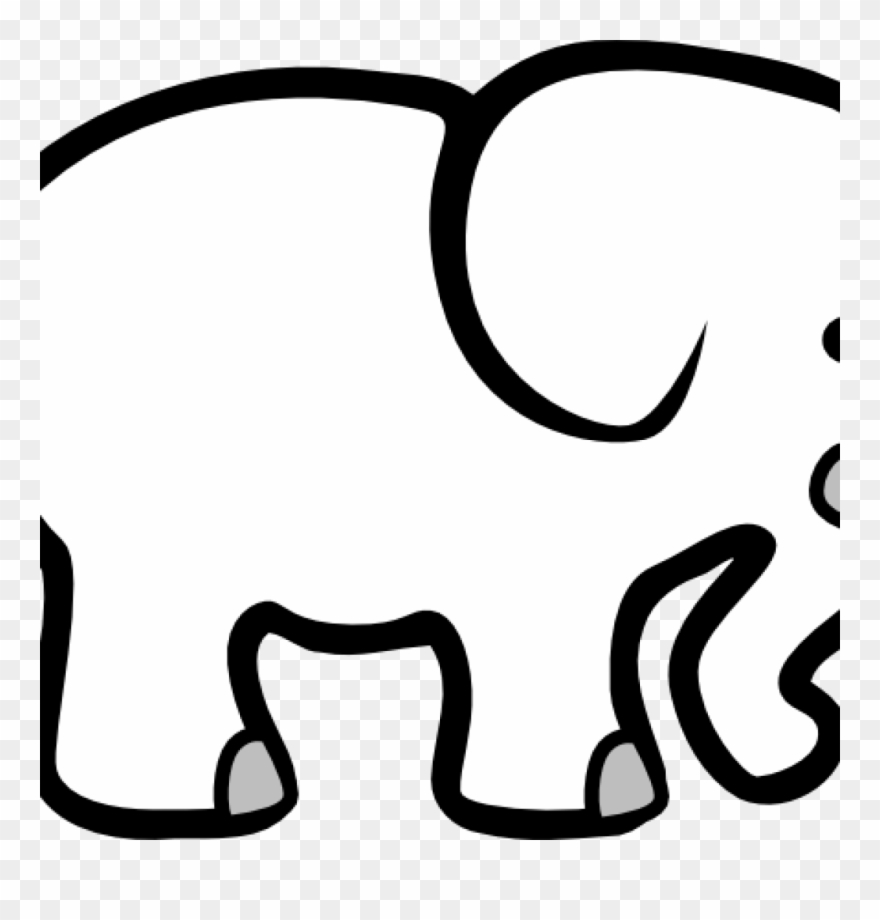 Elephant Clipart Black And White Elephant Clip Art.