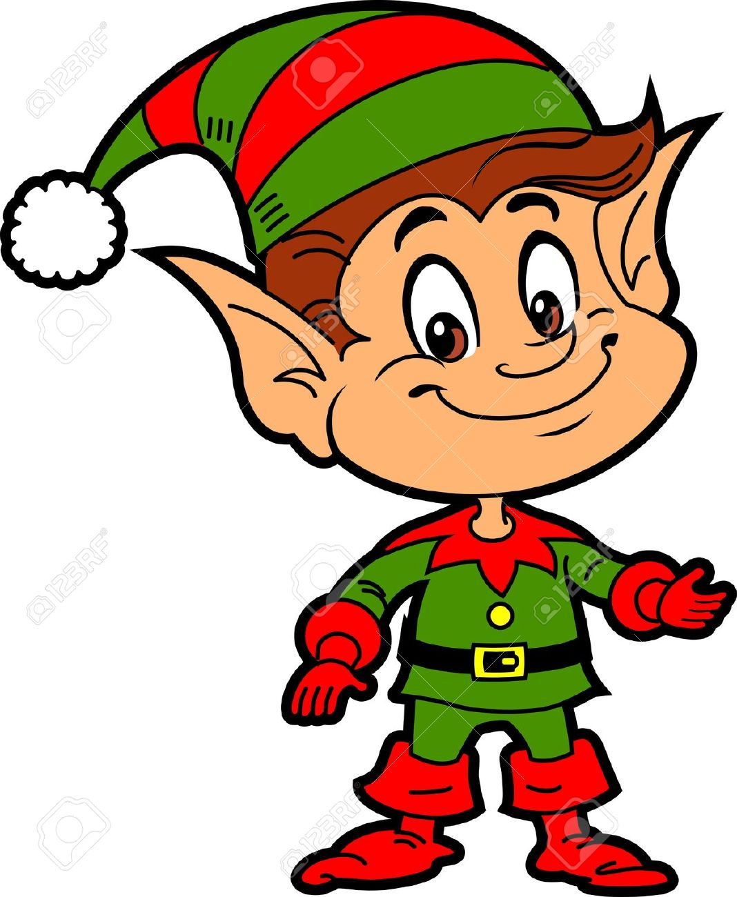 free clipart elves clipground