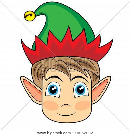Gallery For > Victorian Christmas Elves Clipart Face.