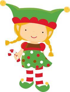 CHRISTMAS KIDS Digital Clipart, Christmas Clipart, Santa Claus.