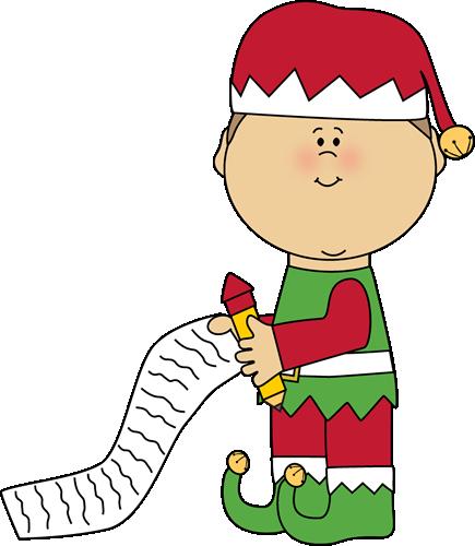 Santa Elf Cliparts.