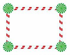Christmas Elf Frame Vector Clipart.
