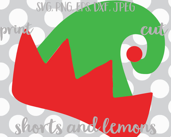 Collection of Elf hat clipart.