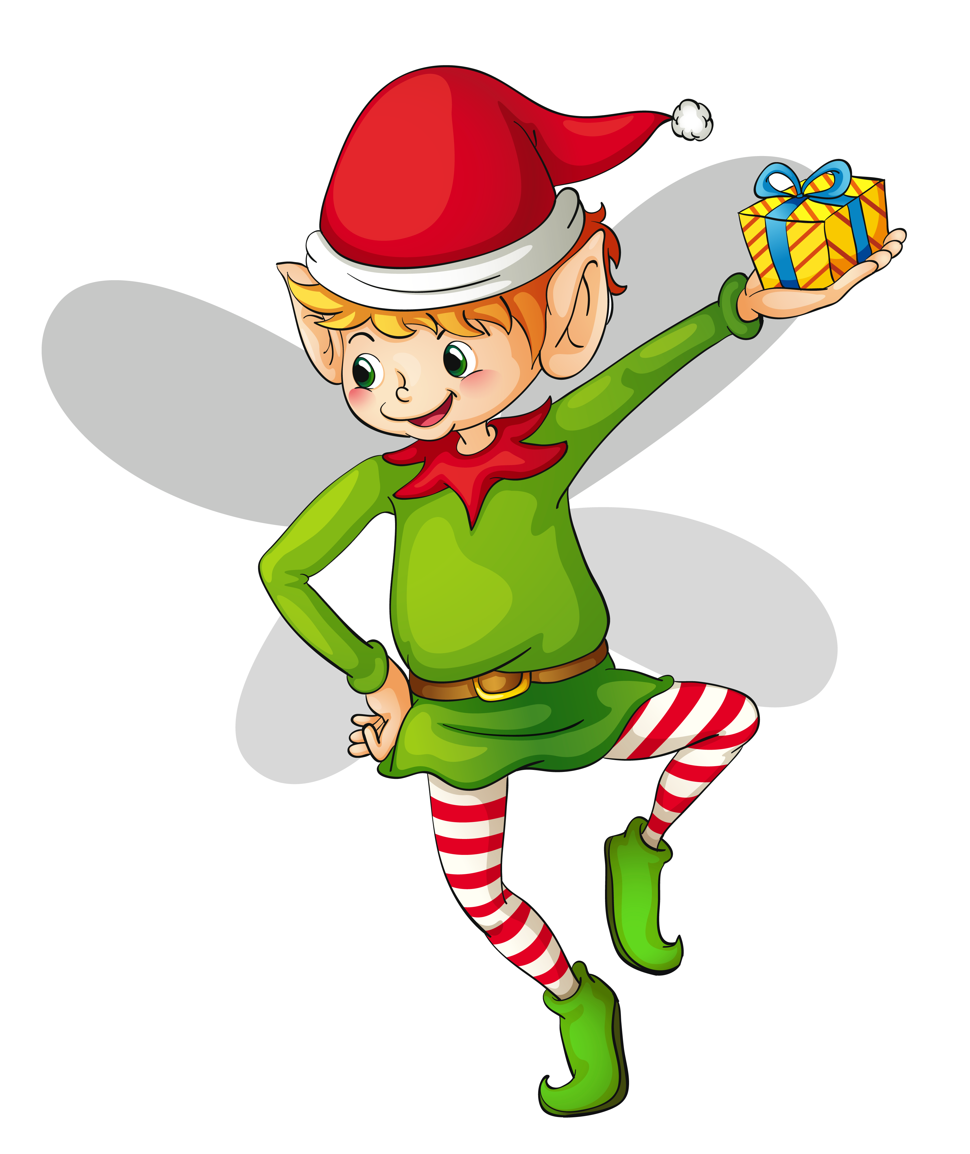 Christmas Elf Clipart Free.