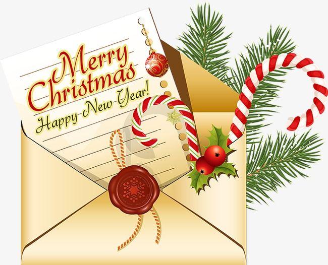 Christmas Envelope.