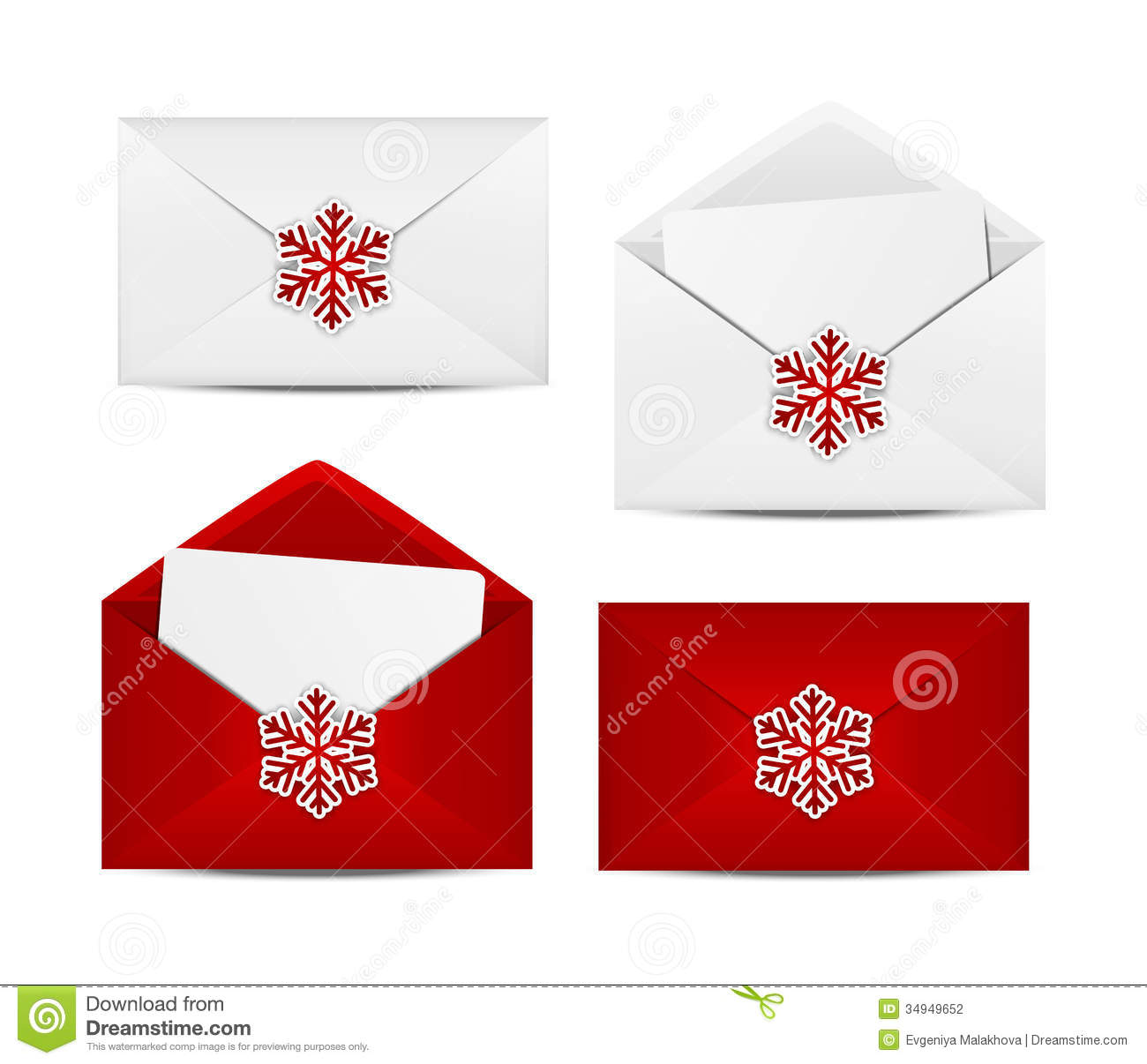 Christmas envelope clipart » Clipart Station.