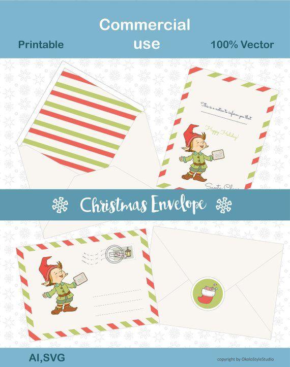 Хmas,Christmas envelope svg,Cheap sticker,clipart holiday.