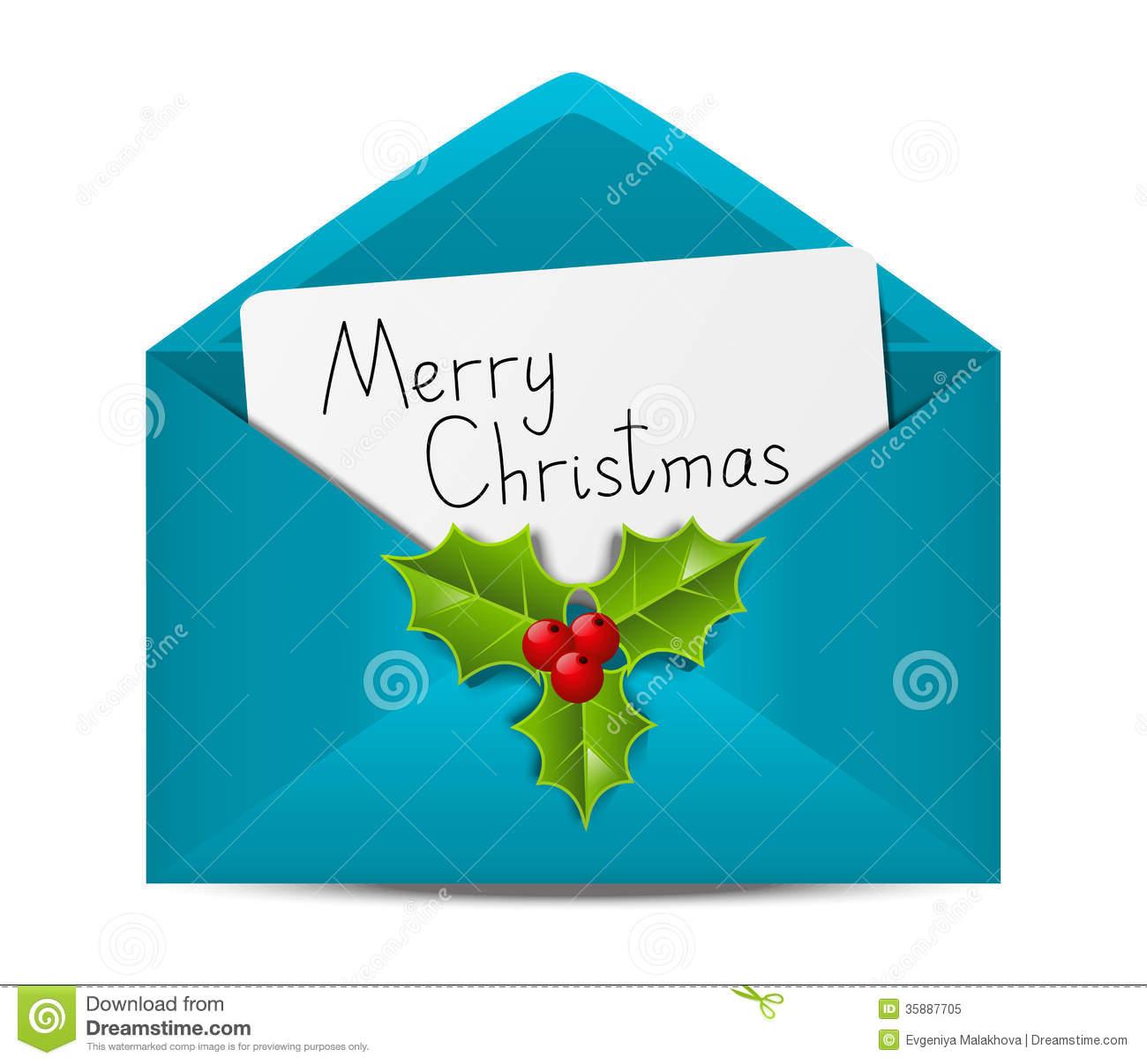 Christmas envelope clipart 1 » Clipart Station.