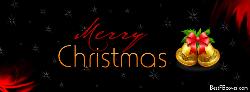 Merry Christmas Facebook Profile Cover.