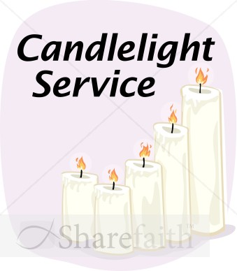 Candlelight Service.