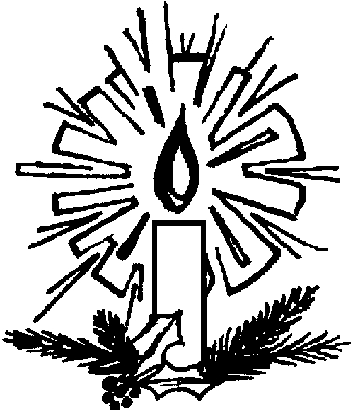 Christmas Eve Candlelight Service Clipart#1967212.