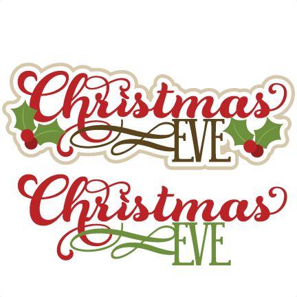 Christmas Eve Clipart.