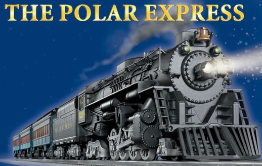 Polar Express Christmas Clip Art.