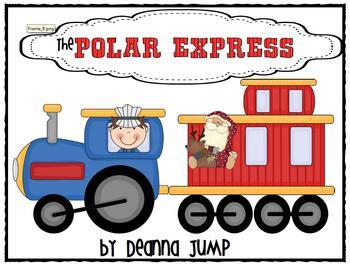 Polar Express Christmas Train Clip Art.