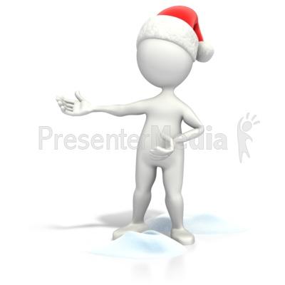 Christmas Figure Presenting.