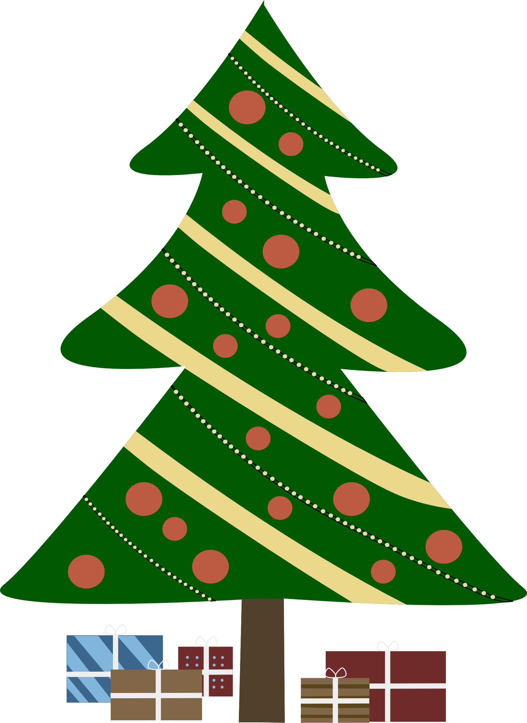 Christmas figurines clipart #7