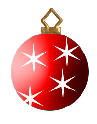 Red Christmas Ornament Clipart Clipground